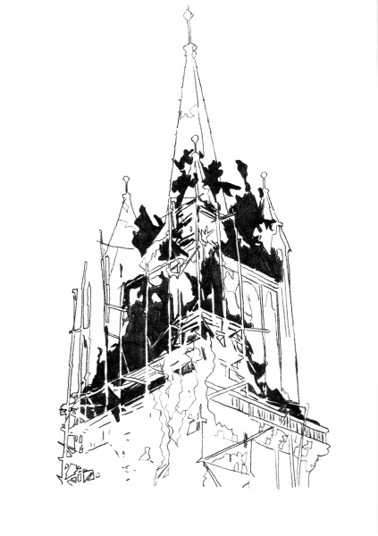 Untitled (Destroyed Churches) 07