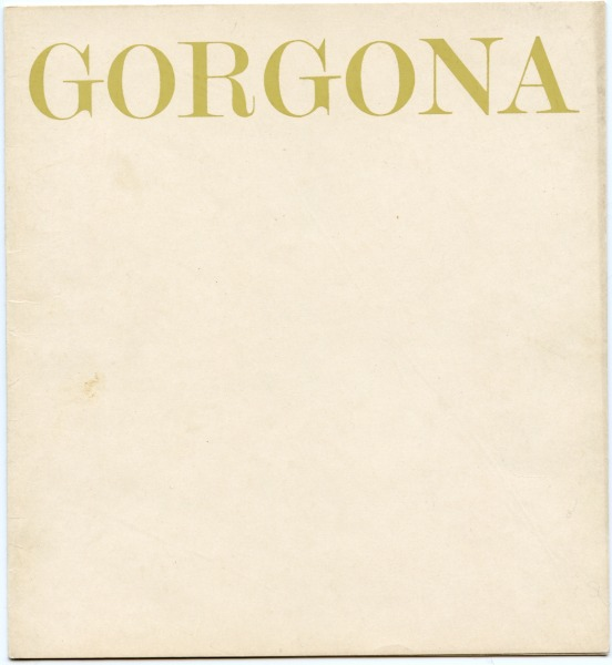 Anti-magazine Gorgona No.8 Diter Rot
