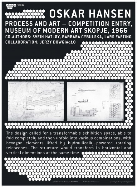 Process and Art Competition Entry (1), Museum of Modern Art Skopje, 1966