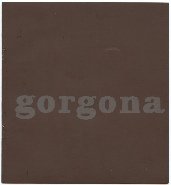 Anti-magazine Gorgona No.1 Josip Vanista